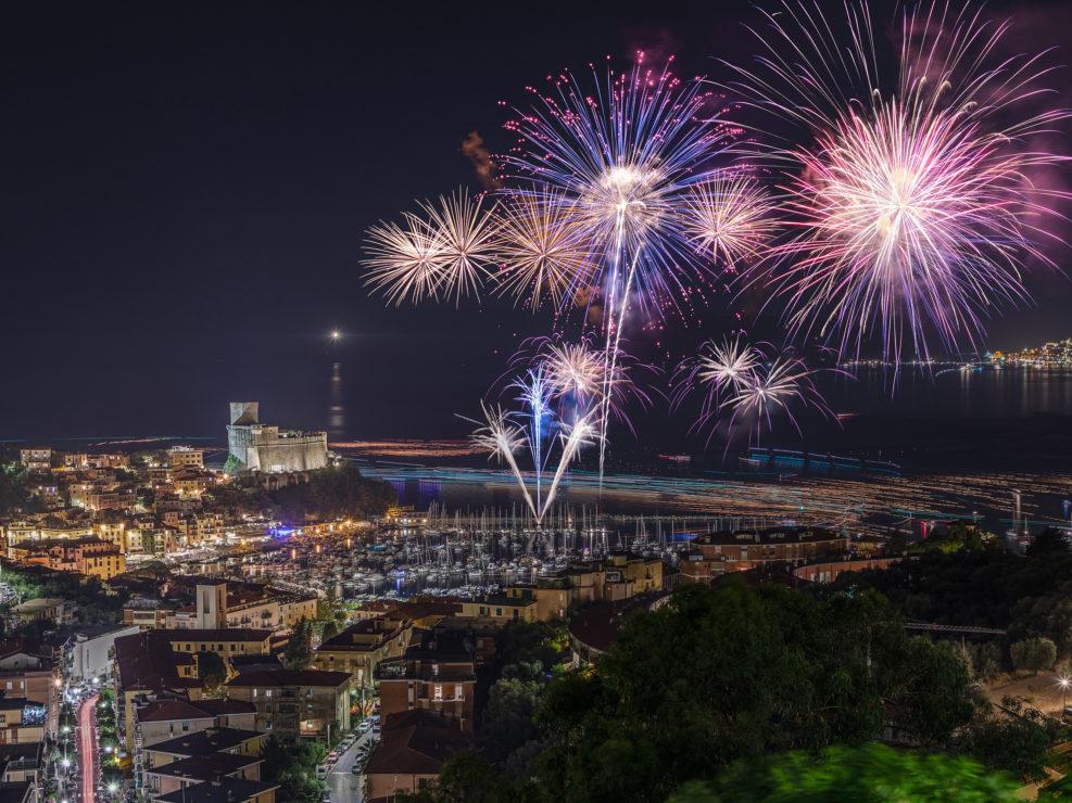 Fireworks in Lerici
