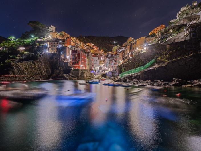 Night Riomaggiore