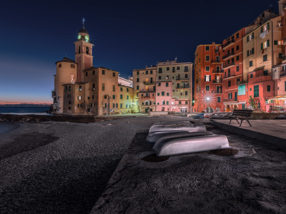 The Night in Camogli