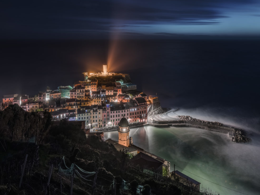 Night on Vernazza