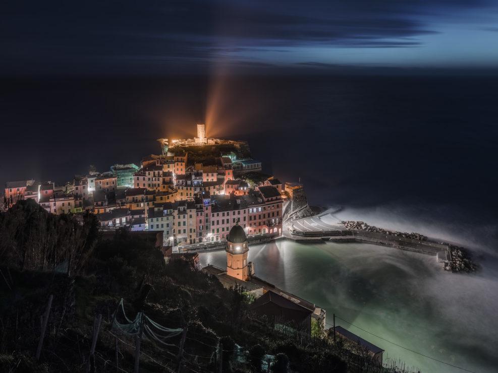 Night on Vernazza