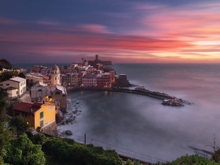 End of a Sunset in Vernazza
