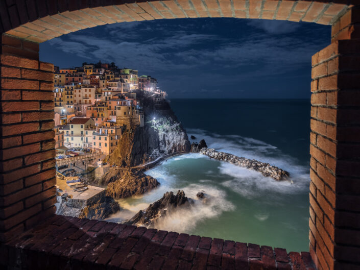 Frame on Manarola