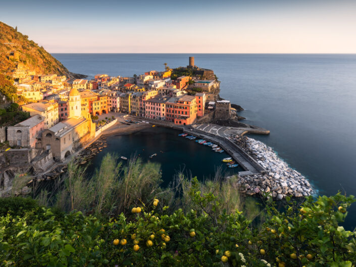 Mediterranean Sunset - Vernazza