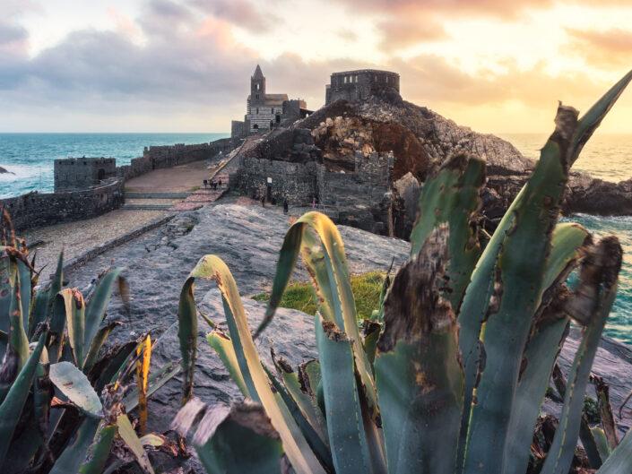 Mediterranean Sunset - Portovenere