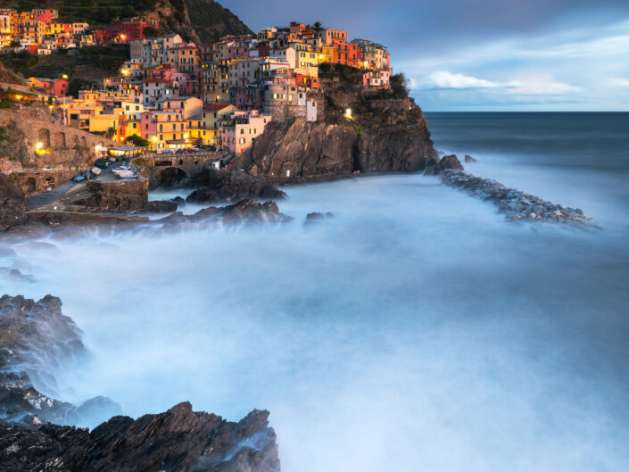 An evening in Manarola