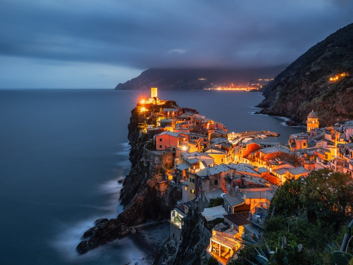 The Lights of Vernazza
