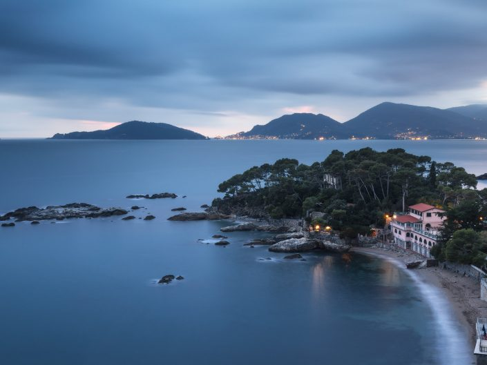 Blue Hour on the Gulf of Poets